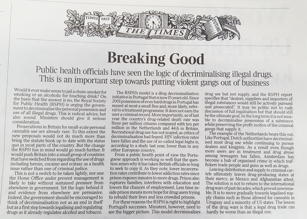 The Times… are changing | Australian Drug Law Reform Foundation